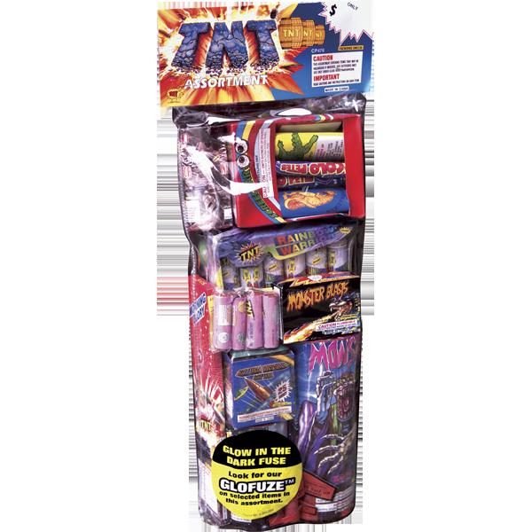 Firework Assortment Tnt Polybag