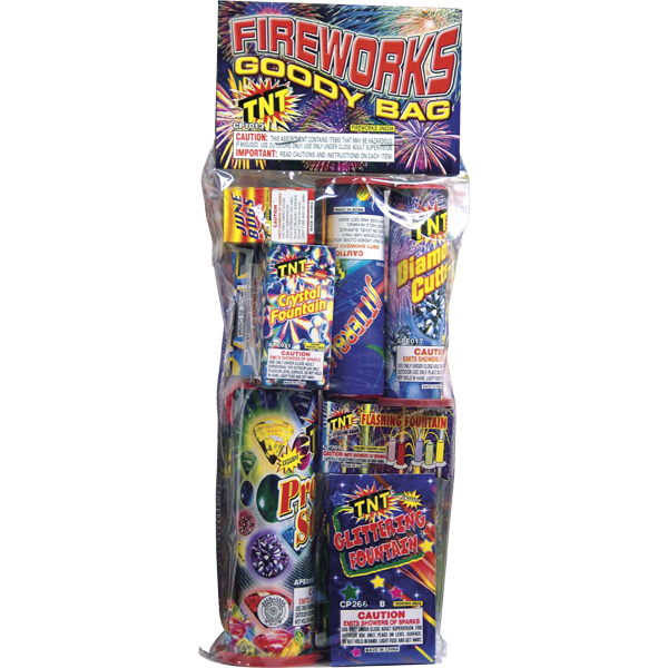 Firework Assortment Goody Polybag   Safe & Sane