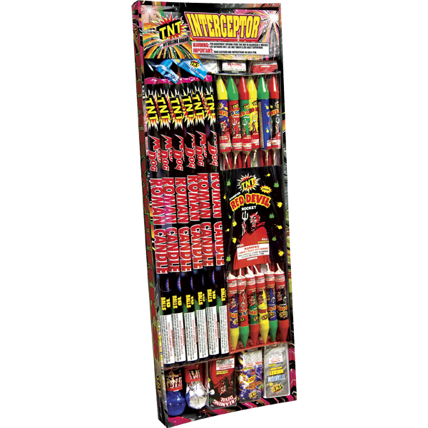 Firework Assortment Interceptor Tray