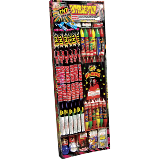 Firework Assortment Interceptor Tray
