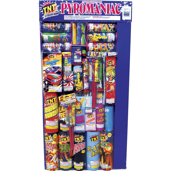 Firework Assortment Pyromaniac