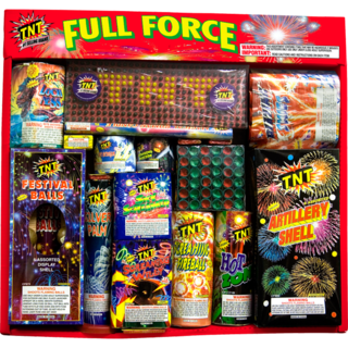 Firework Assortment Full Force Tray