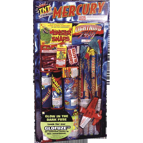 Firework Assortment Mercury
