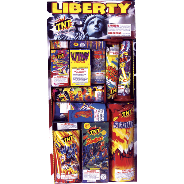 Firework Assortment Liberty