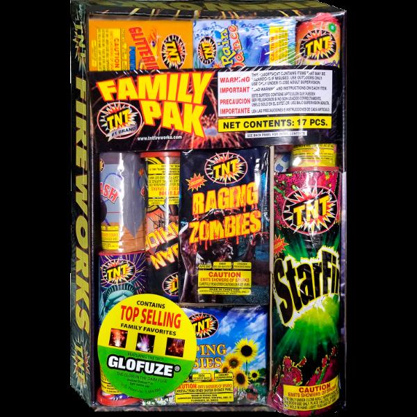 Firework  Tnt Family Pak