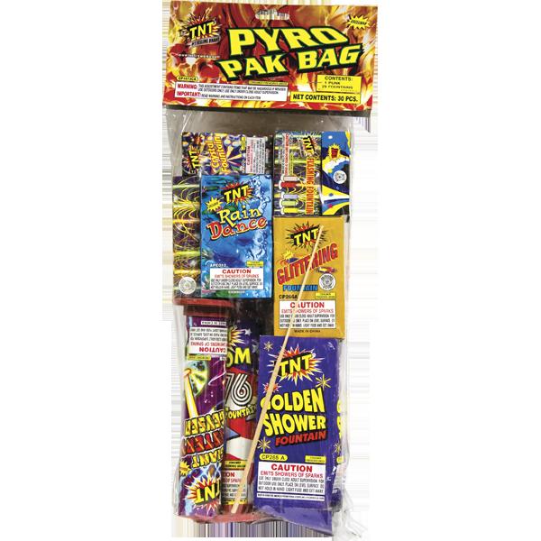 Firework  Pyro Pak Bag