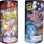 Firework Fountain American Spirit Plus Sizzler Thumbnail 1
