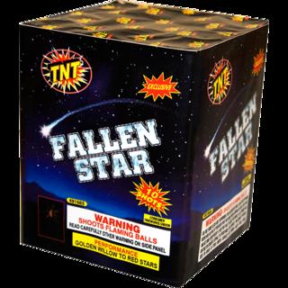 Firework Aerial Finale Fallen Star