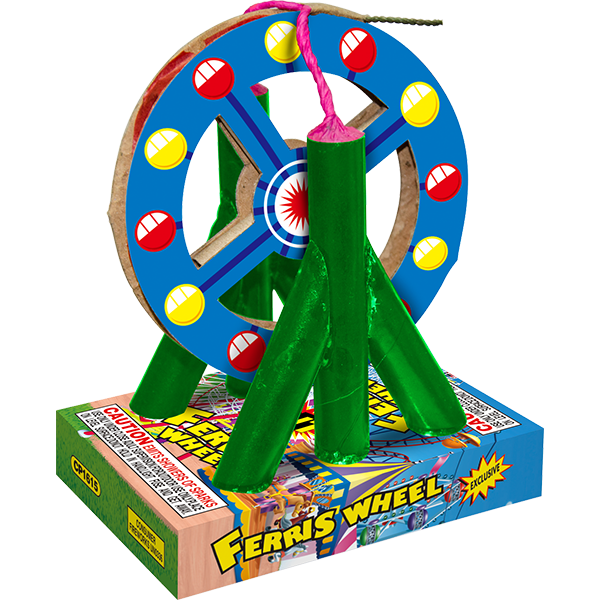 Firework Novelty Sparkler Ferris Wheel