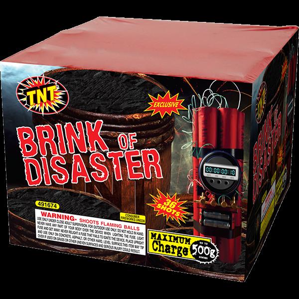 500 Gram Firework Aerial Finale Brink Of Disaster