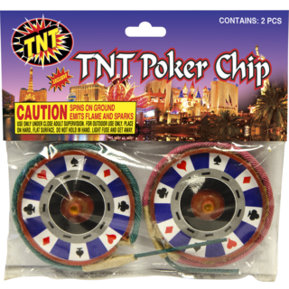TNT Poker Chip