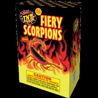 Firework Fountain Fiery Scorpions