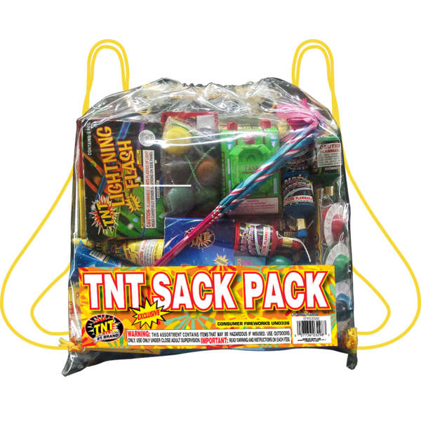 Firework Assortment Tnt Sack Pack