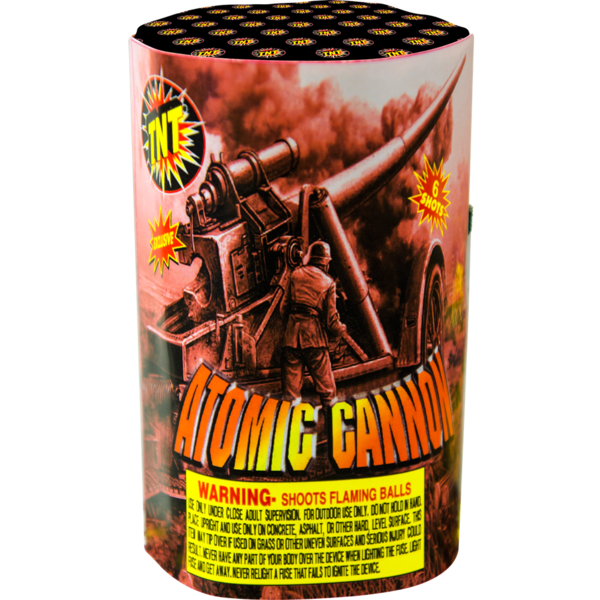 Firework Aerial Finale Atomic Cannon