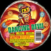 Firework Novelty Sparkler Dancing Devil Thumbnail 1