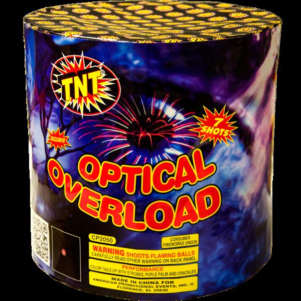 Firework Aerial Finale Optical Overload