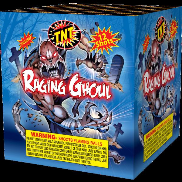 Firework Aerial Finale Raging Ghoul