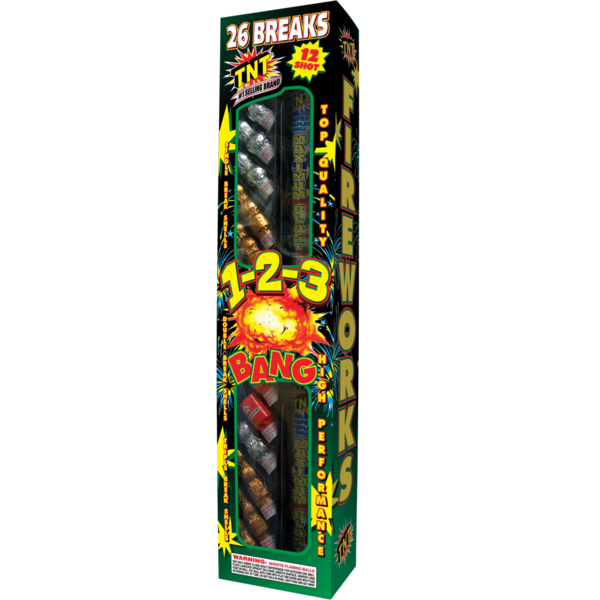 Firework Reloadable 1 2 3 Bang