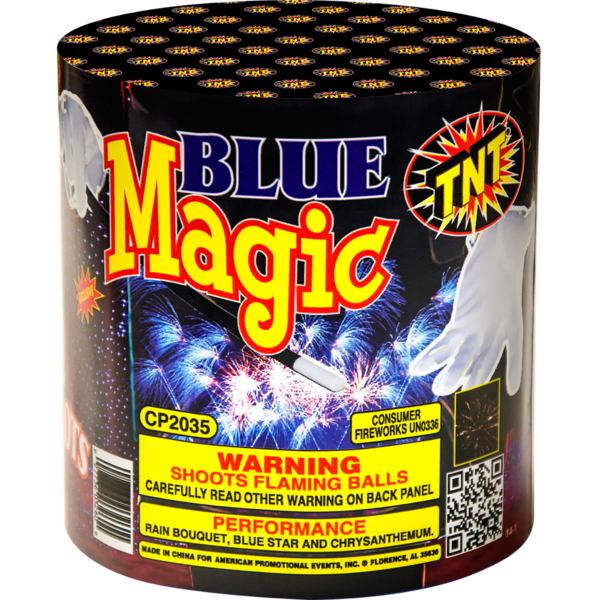 Firework Aerial Finale Blue Magic