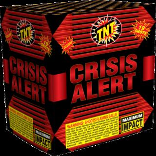 500 Gram Firework Aerial Finale Crisis Alert