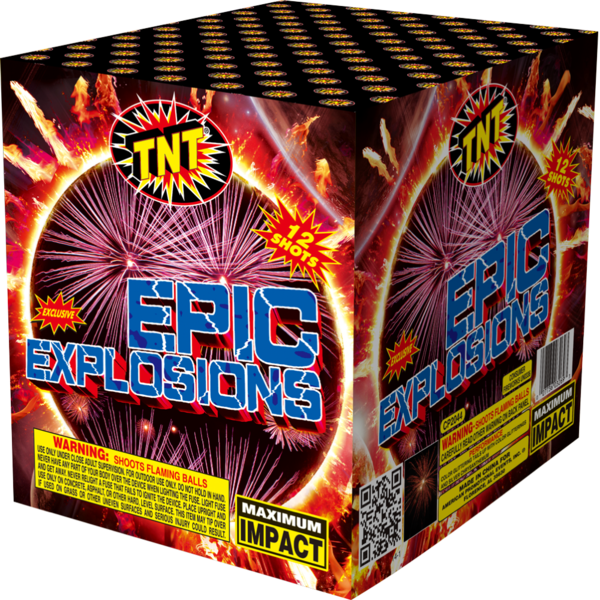 Firework Aerial Finale Epic Explosions