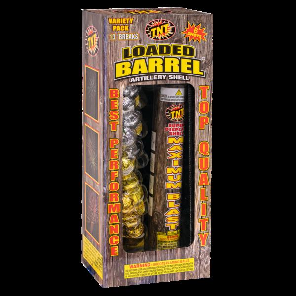 Firework Reloadable Loaded Barrel