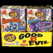 Firework Fountain Good Vs Evil Thumbnail 1