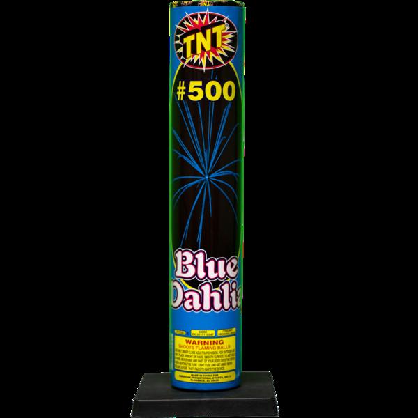Firework Aerial Finale #500 Shell Blue Dahlia
