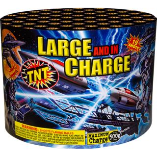 500 Gram Firework Aerial Finale Large And In Charge