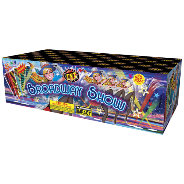 500 Gram Firework Fountain Broadway Show