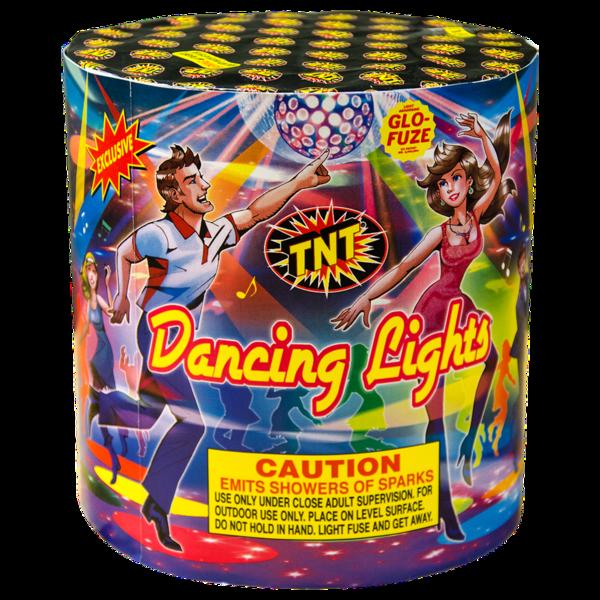Firework Fountain Dancing Lights