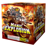 500 Gram Firework Aerial Finale Manic Explosion Thumbnail 1