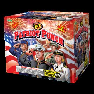 500 Gram Firework Aerial Finale Patriot Punch