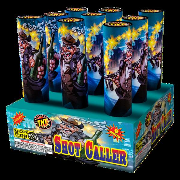 500 Gram Firework Aerial Finale Shot Caller