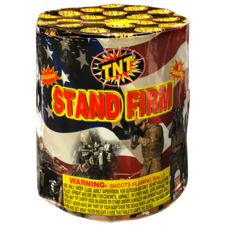 Firework Aerial Finale Stand Firm