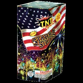 Firework Fountain Stars & Stripes