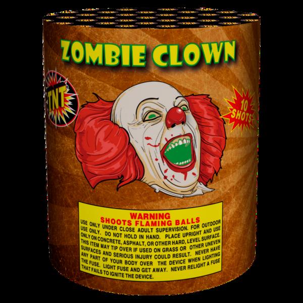 Firework Aerial Finale Zombie Clown