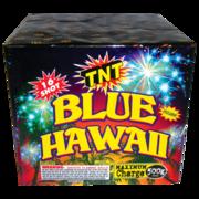 500 Gram Firework Aerial Finale Blue Hawaii Thumbnail 1
