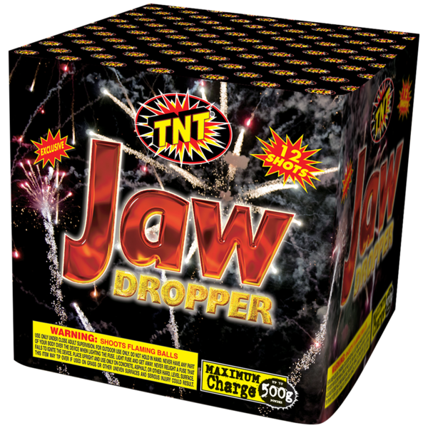 500 Gram Firework Aerial Finale Jaw Dropper