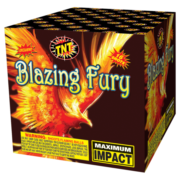 500 Gram Firework Aerial Finale Blazing Fury