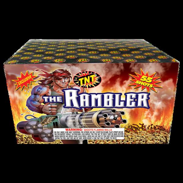 Firework Aerial Finale The Rambler