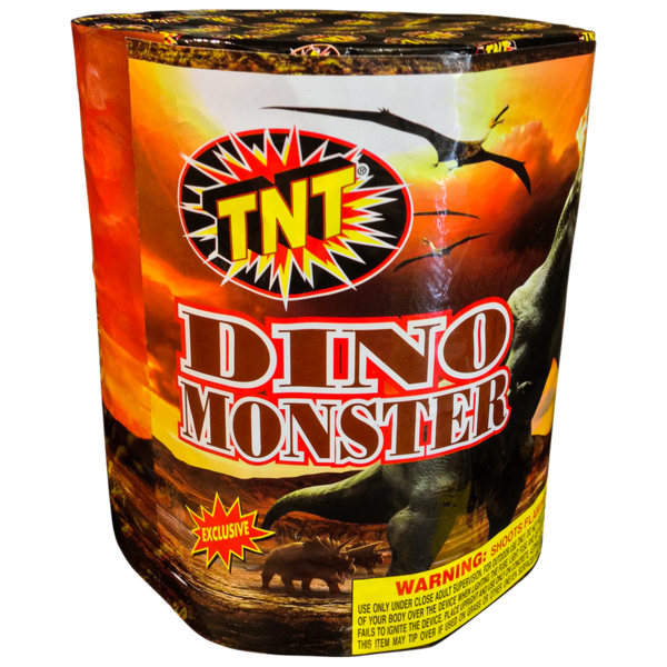 Firework Supercenter Dino Monster