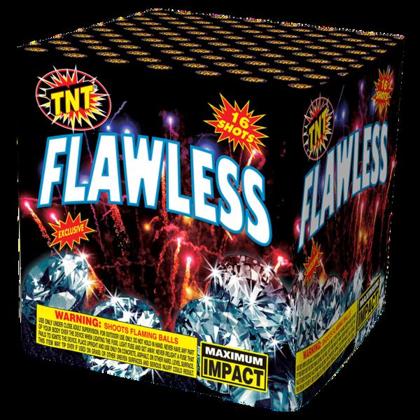500 Gram Firework Aerial Finale Flawless