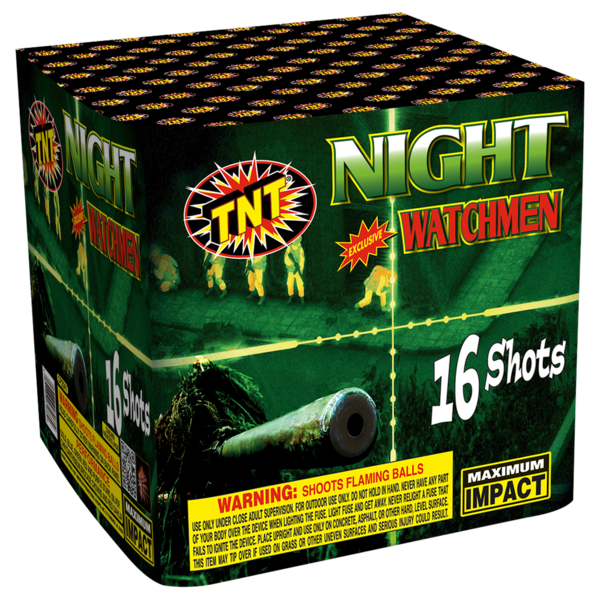 500 Gram Firework Supercenter Night Watchmen