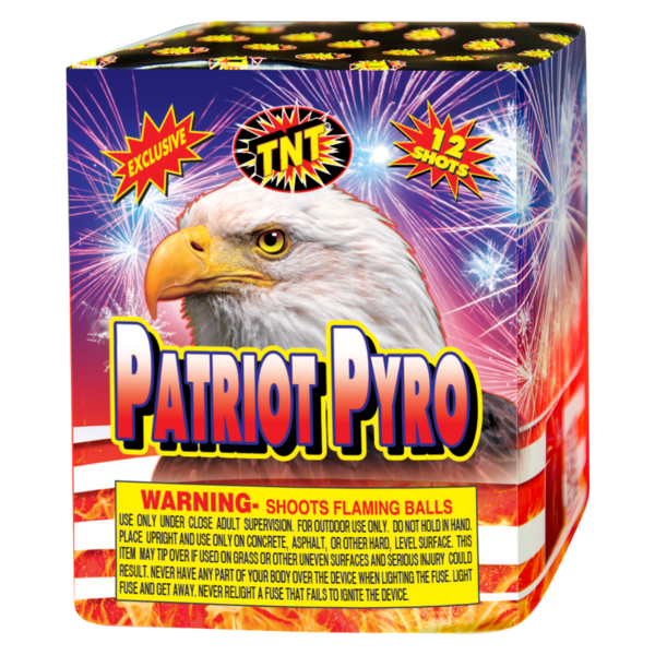 Firework Supercenter Patriot Pyro