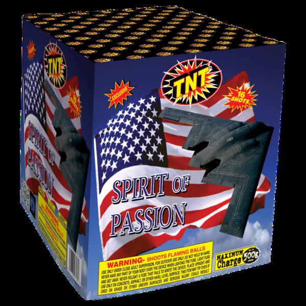 500 Gram Firework Supercenter Spirit Of Passion