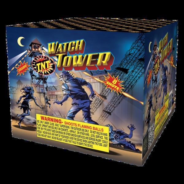 Firework Aerial Finale Watch Tower