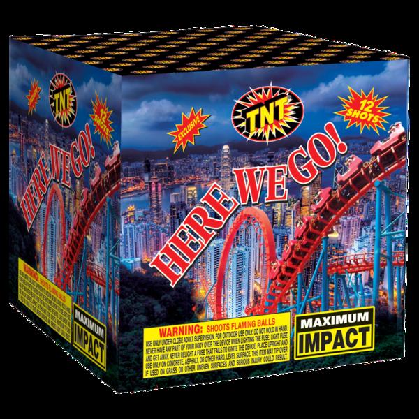 500 Gram Firework Aerial Finale Here We Go!