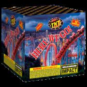 500 Gram Firework Aerial Finale Here We Go! Thumbnail 1