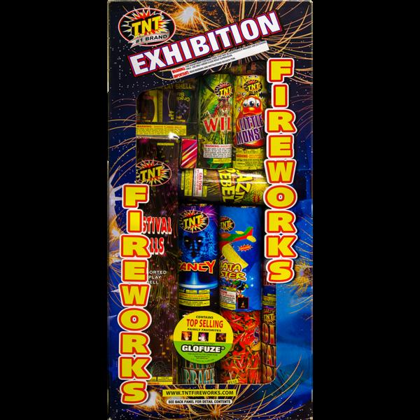 Firework Supercenter Exhibition Assortment